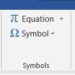 How to insert a degree symbol in Microsoft Word