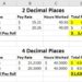 Excel Reconciliation and Decimal Precision